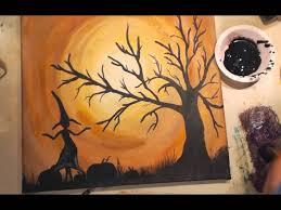 Youtube Halloween Crafts - 341 best halloween paintings images on pinterest halloween ideas