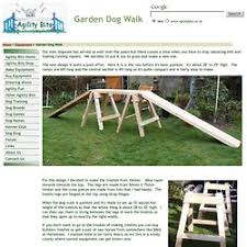 Backyard Agility Course Build Your Own Dog Agility Course Pearltrees
