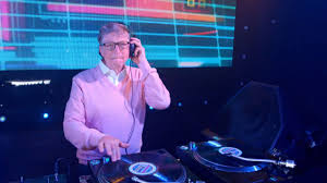 Bill Gates Spins Turntables And Busts Moves On Dancefloor In Viral
