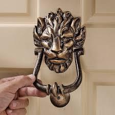 foo dog door knocker 40 unique door knockers to add drama to your entryway