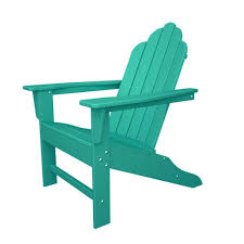 Polywood Classic Adirondack Chair Polywood Adirondack Chairs Patio Chairs The Home Depot