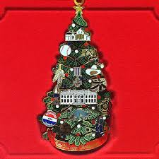 White House Christmas Ornament - historical collector ornaments