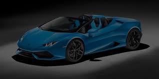 Lamborghini Huracan Blue - lamborghini huracan spyder model information
