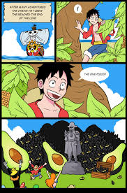 One Piece Memes - it turned avocado one piece know your meme