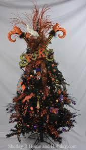 shelley b decorated tree with ghost topper more styles