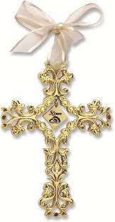 traditional 50th wedding anniversary gifts 50th anniversary cross ornament beautiful