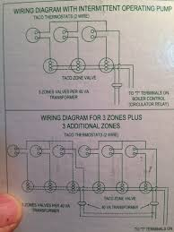 run a c wire to 2 on a taco valve other location u2014 heating help