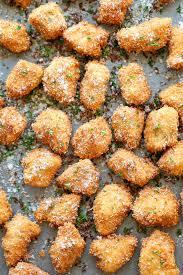 Fried Parmesan Parmesan Chicken Bites Damn Delicious