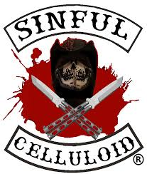 halloween horror nights 26 logo sinful celluloid patch logo color tm png