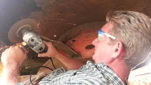 how to sharpen bushhog blades bushog bush hog rotary cutter