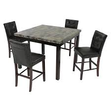 Black Wood Dining Chair Dark Wood Dining Chairs Rustic Dark Oak 6 Piece Wood Dining Set