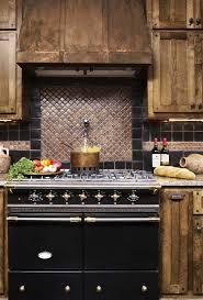 Copper Tile Backsplash For Kitchen - impressive copper tile backsplash with custom kitchen counterys