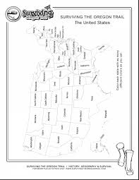 Black And White United States Map by Impressive United States Coloring Page With United States Map