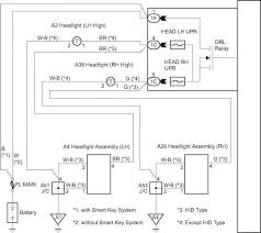 headlight relay circuit toyota avalon repair toyota service blog