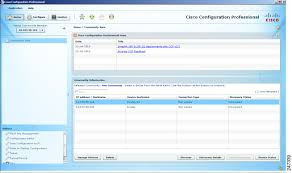 getting started with cisco configuration professional creating