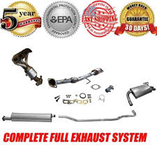 nissan altima 2005 muffler full exhaust system muffler catalytic converters manifold for