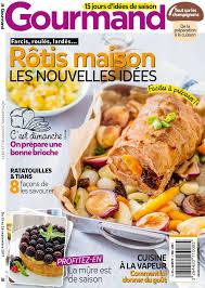 gourmand magazine cuisine gourmand n 380 du 13 septembre 2017 à télécharger sur