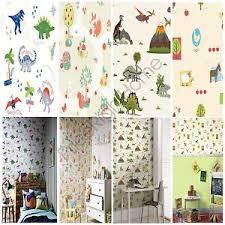 wallpaper kids bedrooms animals wallpaper kids bedroom dinosaurs fox owls rabbits