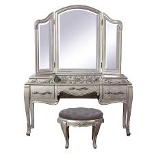 aico hollywood swank vanity pulaski furniture rhianna 3 piece vanity with stool in antique
