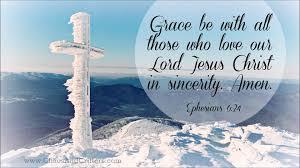 bible verse ephesians 6 24 daily inspiration
