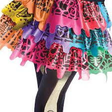 Monster Halloween Costumes Girls U0027s Skelita Calaveras Monster Costume