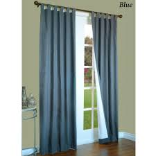 Thermal Curtains Patio Door by Weathermate Solid Thermalogic Tm Tab Top Curtains