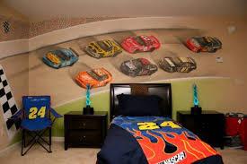 bed racing car bedroom accessories