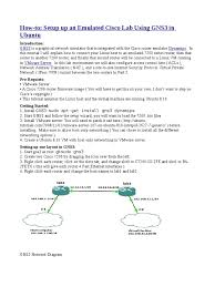 tutorial gns3 linux gns router computing virtual private network