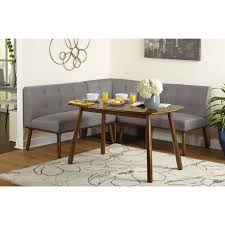 Corner Dining Chairs Maxwell Breakfast Nook 4 Corner Dining Set Colors