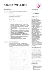 Office Manager Resume Sample by Executive Assistant Resume Samples Visualcv Resume Samples Database