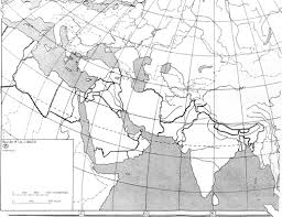 Blank Map Of Eastern Mediterranean by Islam Map Assignment Mr Grande U0027s Modern World History