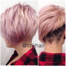 shaved undercut short hair edgy undercut and design lines hair pinterest undercut