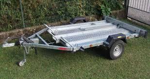 carrelli porta auto usati vendo auto furgoni cer rimorchi carrello enduro