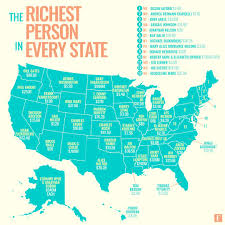 States In Mexico Map These Seven U S States Have No Billionaires See Who U0027s The