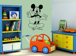 chambre mickey mouse stickers muraux mickey mouse collection de stickers muraux tendance