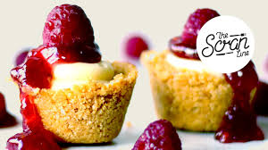 simple no bake mini cheesecake bites the scran line youtube