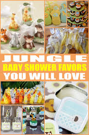 jungle baby shower favors baby shower favors