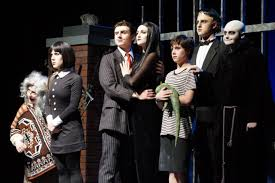 addams family thanksgiving scene southern regional theater company wraps u0027the addams family u0027 with 3