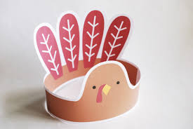 turkey headband 4 thanksgiving printables for kids