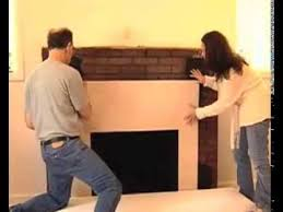 How To Build Fireplace Surround by How To Install A Surround Facing Kit In Fireplace Mantels Home