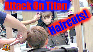 attack on titan haircuts in thailand youtube