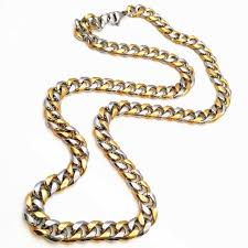 long necklace chain wholesale images Chunky hiphop gold chain for men jewelry wholesale two tones jpg