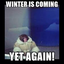 Meme Creator Winter Is Coming - winter is coming yet again darwin the ikea monkey meme generator