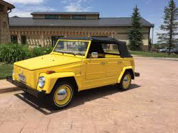 volkswagen thing yellow vw thing for sale in denver volkswagen 181 classifieds 1973 74