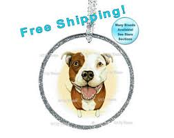 pitbull ornament etsy