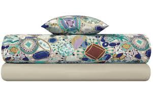 Missoni Duvet Cover Missoni Porzia Teal Green U0026 Blue Modern Floral Duvet Covers U0026 Bedding