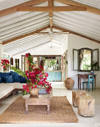 Tory Burch Home Decor Go Inside Anderson Cooper U0027s Trancoso Brazil Vacation Home