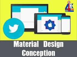 how to design app using google material design google material