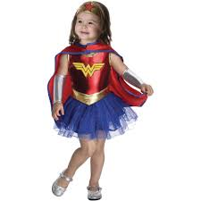 Scary Halloween Costumes Walmart Woman Costume Kids Dc Comics Woman Toddler