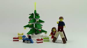 lego christmas tree review set 40058 youtube
